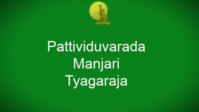 Pattividuvarada- Manjari – Thyagaraja