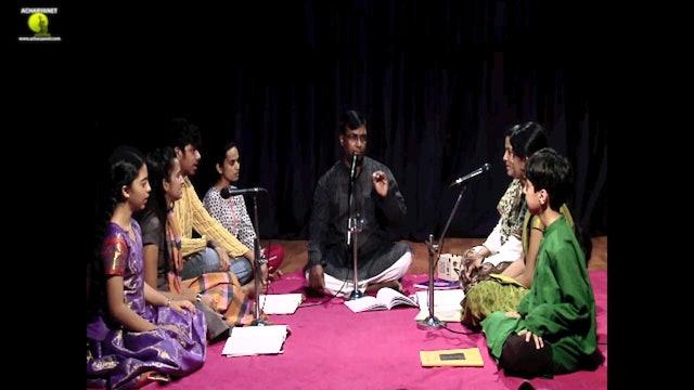 Viriboni - Bhairavi Ata Tala Varnam - Part 1