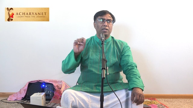 Vanajasana – Shree – Subbaraya Shastri