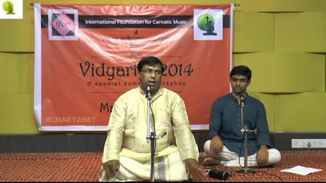 Shree Ganeshvara – Shanmukhapriya – OVK