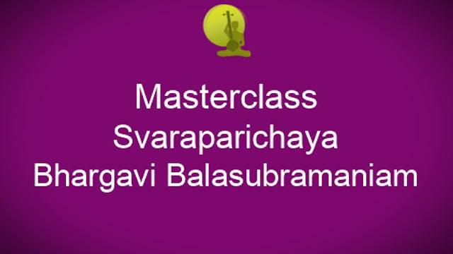 Svaraparichaya