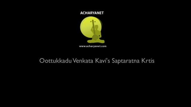 Aalavadennalo – Paras – Oothukkadu Venkata Kavi- Part 2