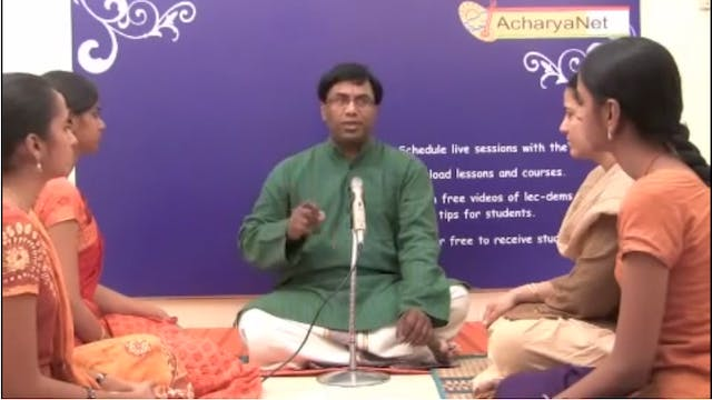 Voice Culture Part 1 - Fundamentals of Carnatic Music