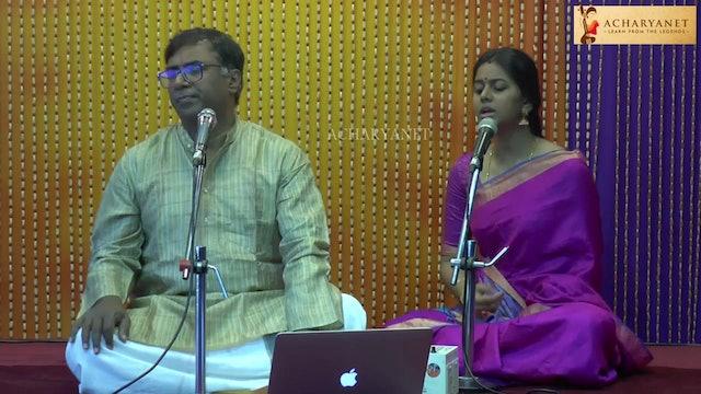 Neerada sama – Jayantashree – Ādi – tishragati – OVK