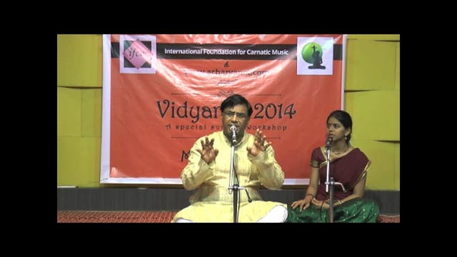 Chandram bhaja manasa – Asaveri – Mut...