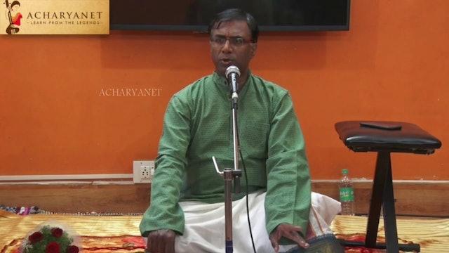Manasa sancharare – Sama – Ādi – Sadashiva Brahmendra