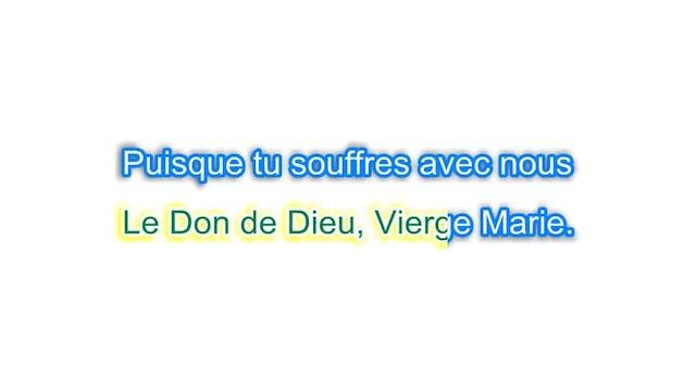 Chercher avec toi, Marie