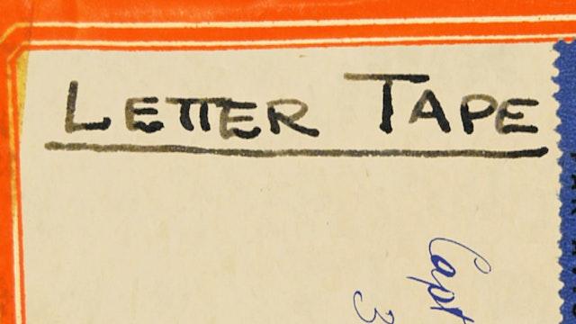 Letter Tape