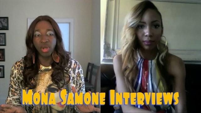 Mona Samone Interviews   Valentina