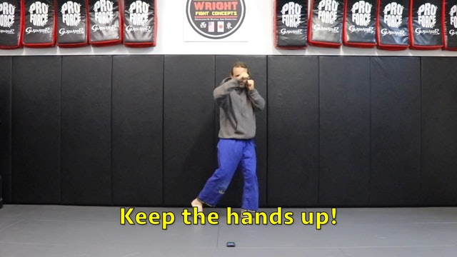 5 Minute Workout (level 3): Slipping:Body Mechanics with punches
