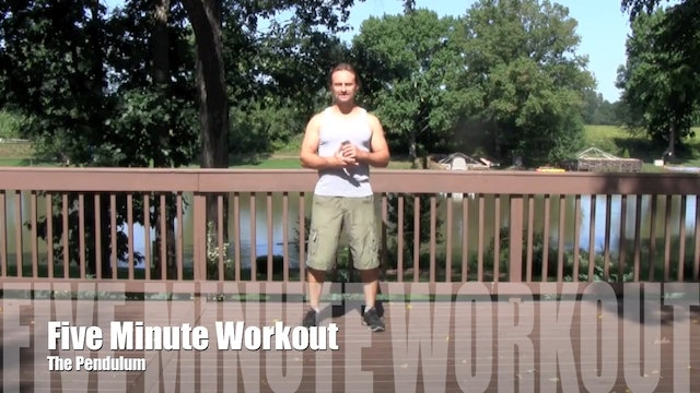 5 Minute Workout (Level 5) - Pendulum