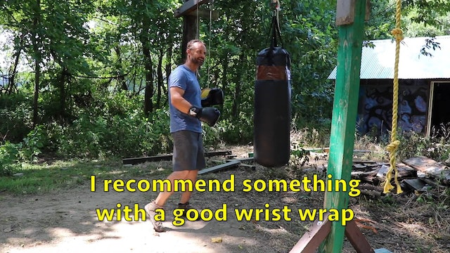 Online Class - Trapping & Legs on the punching bag