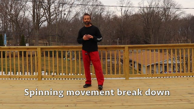 5 minute workout (level 6): spinning