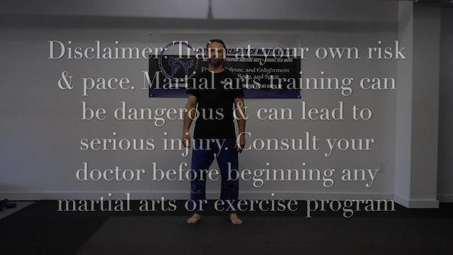 Footwork Practice (1-6 & kicking footwork)