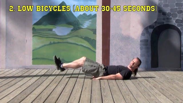 5 Minute Workout (Level 6): Lower Abs