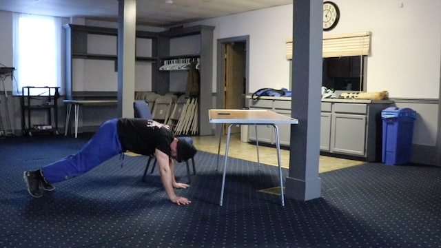 "5 Minute Workout (Level 6) - Desk-ercise! ""Onto the Floor"""