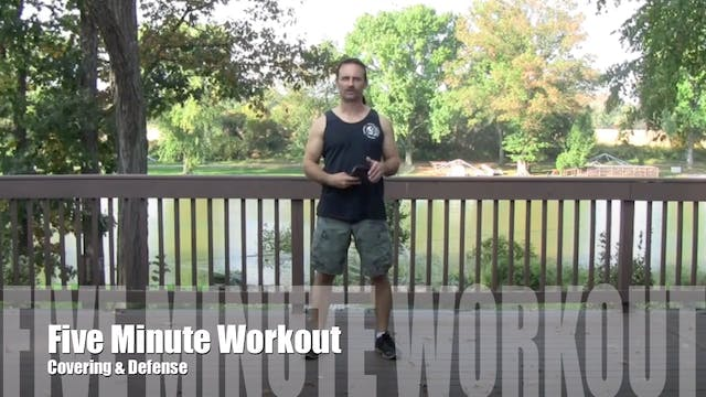 5 Minute Workout (Level 3-4) - Defens...