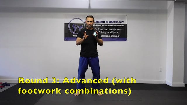 Footwork Practice Rounds (Movements 1-6)