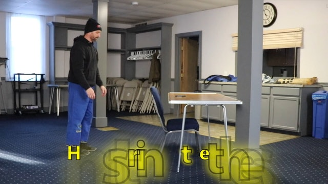 5 Minute Workout (Level 5) - Desk-ercise!