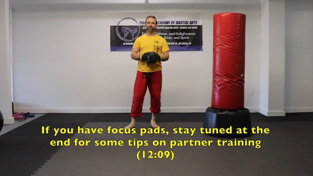 Online Class: 3 Punch Combinations