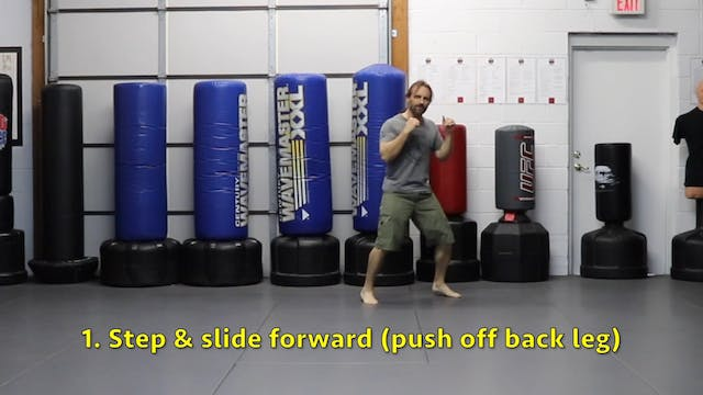 Online Class - Footwork Madness (4-21...