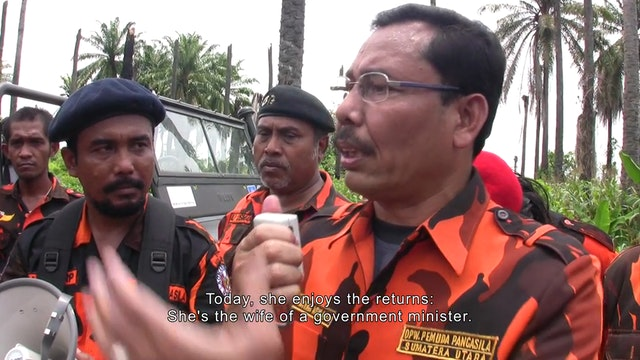 Deleted Scene - A Deputy Minister owes his position to Pancasila Youth