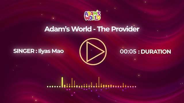 The Provider - Ilyas Mao
