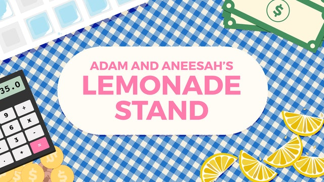 Adam and Aneesah's Lemonade Stand