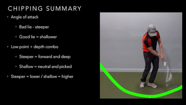 Chipping Summary