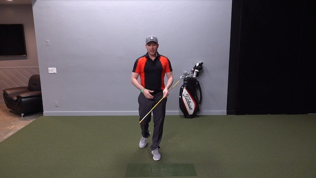 Alignment Stick Whipping Drill