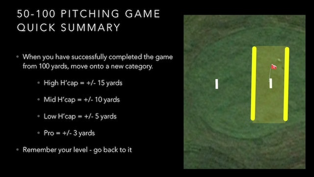 Pitching Game Quick Summary