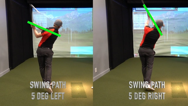 Swing Path End Position