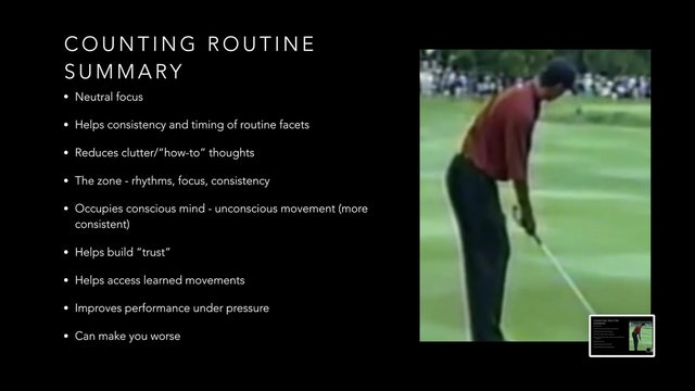 Counting Routine Summary