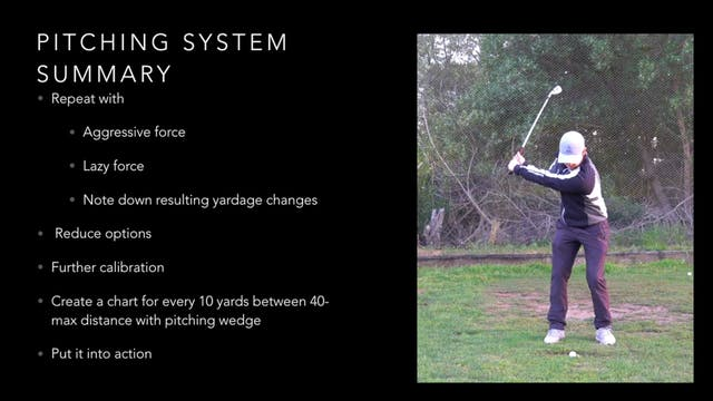 Pitching System Summary