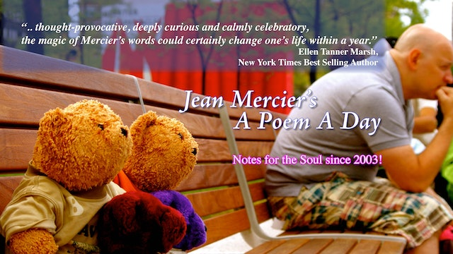 Jean Mercier's A Poem A Day * Full 100 Video Chapters