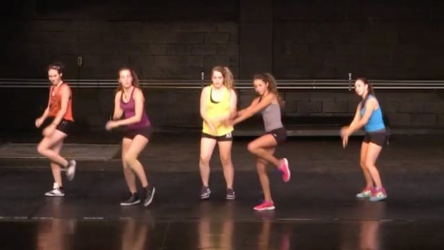 "Hip Hop Dance Routine (Adv/Beg): ""International Love"" By Pit Bull"