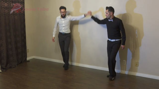Single Step Advanced - Lesson 6 Running Steps - Dabke
