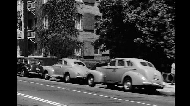 Driving in LA - 1940's