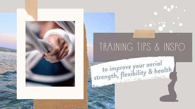 Training Tips & Inspo