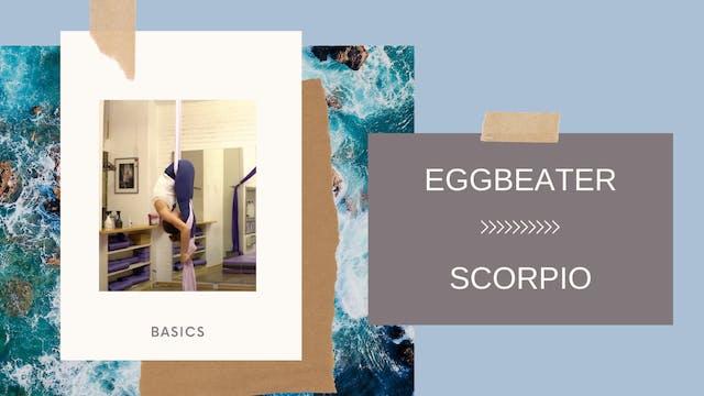Combo: Eggbeater - Scorpio Backbend (...