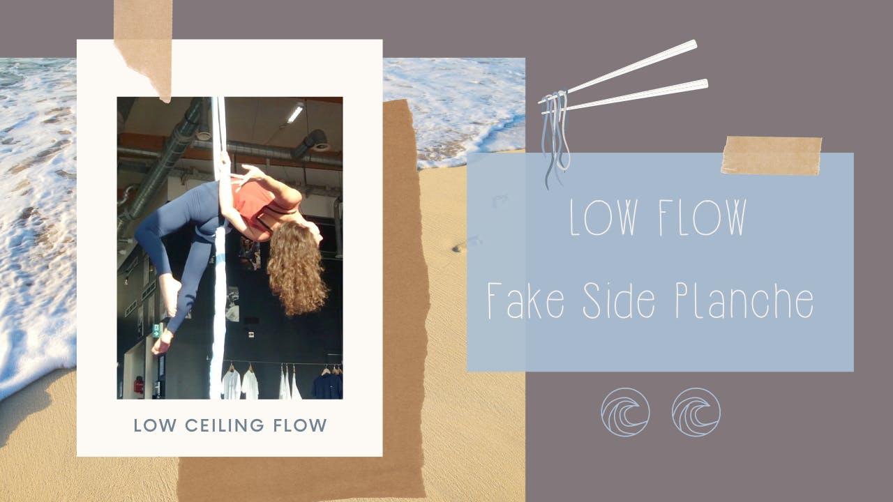 """Low Flow: """"Fake Side Planche"""" (GER; I)"""
