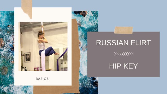 Fabric Brain: Russian Flirt - Hip Key...