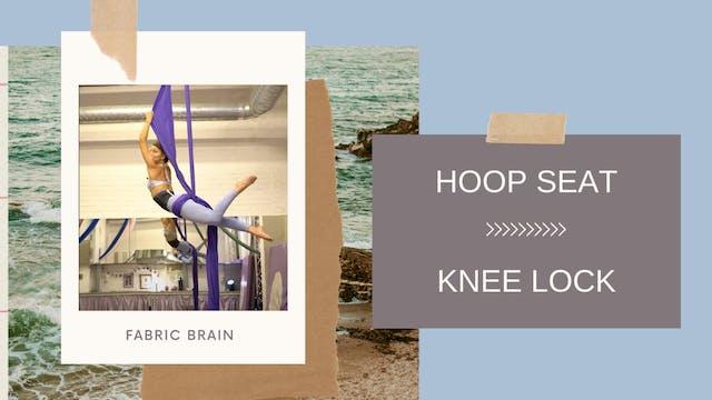 Trick: Hoop Seat Flip into Knee Lock
