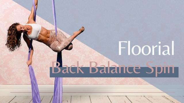 Floorial: Back Balance Spin