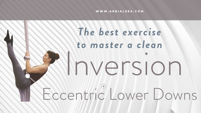 Best inversion Exercise: Eccentric Lower Downs