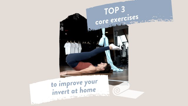 Top 3 core exercises to improve your invert at home