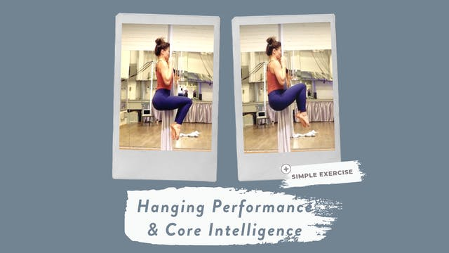 Improve your hanging performance and ...