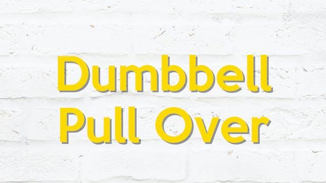 DUMBBELL PULL OVER
