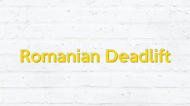 ROMANIAN DEADLIFT