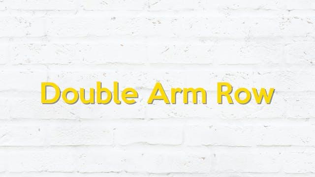 DOUBLE ARM ROW